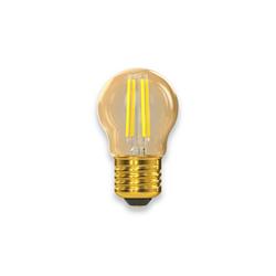 Филаментная світлодіодна лампа Luxel 075-HG 5W E27 2500K (075-HG) Gold