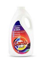 Гель Гама для стирки черного и цветного белья Vizir Gama Color & Dark 5 л(100 стирок)