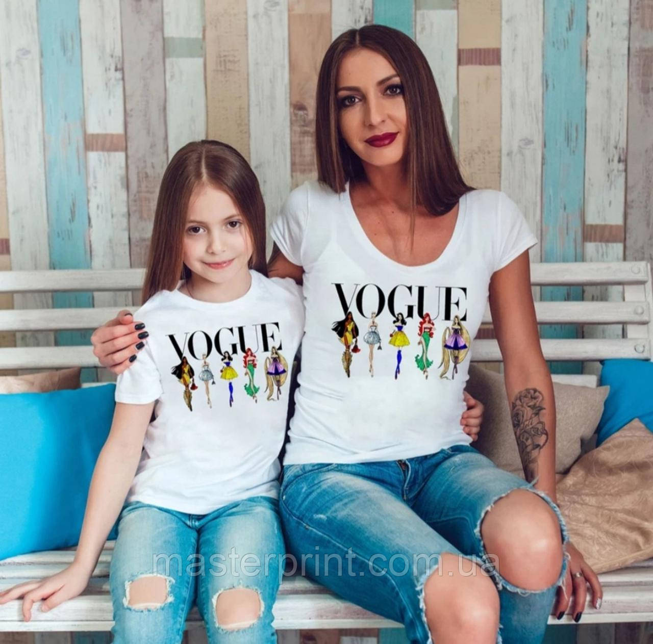 Футболки фемілі цибулю мама і донька