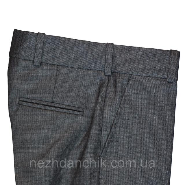 серые школьные штаны для мальчика