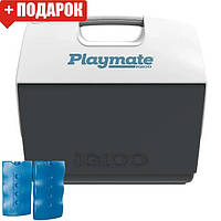 Термобокс Igloo Playmate Elite 15 л серый (сумка холодильник, термосумка пластиковая, термо контейнер), фото 1