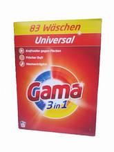 Порошок Гама для стирки цветногои белого белья Vizir Gama Universal5 кг(83 стирки)