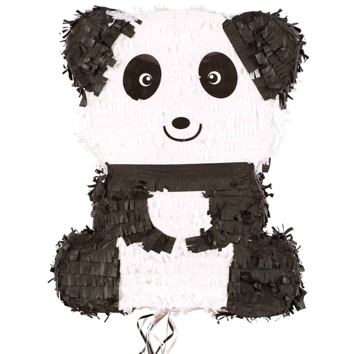 Піньята Панда з стрічками