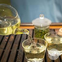 Белый элитный чай Би Ло Чунь белый китайский чай рассыпной 50 г, фото 8
