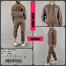 Прогулочный костюм в стиле Moncler от AMN Турция люкс Мокко