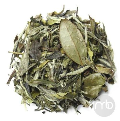 Білий елітний чай Білий Піон (Бай Му Дань) розсипний китайський чай 50 г