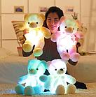 ОПТ Світиться ведмедик 50 см білий М'яка іграшка ведмідь, фото 2