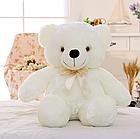 ОПТ Світиться ведмедик 50 см білий М'яка іграшка ведмідь, фото 3