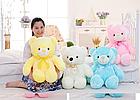 ОПТ Світиться ведмедик 50 см білий М'яка іграшка ведмідь, фото 5
