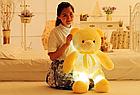 ОПТ Светящийся мишка 50 см белый Мягкая игрушка медведь, фото 6
