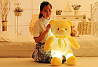 ОПТ Світиться ведмедик 50 см білий М'яка іграшка ведмідь, фото 6