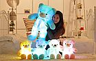 ОПТ Светящийся мишка 50 см белый Мягкая игрушка медведь, фото 8