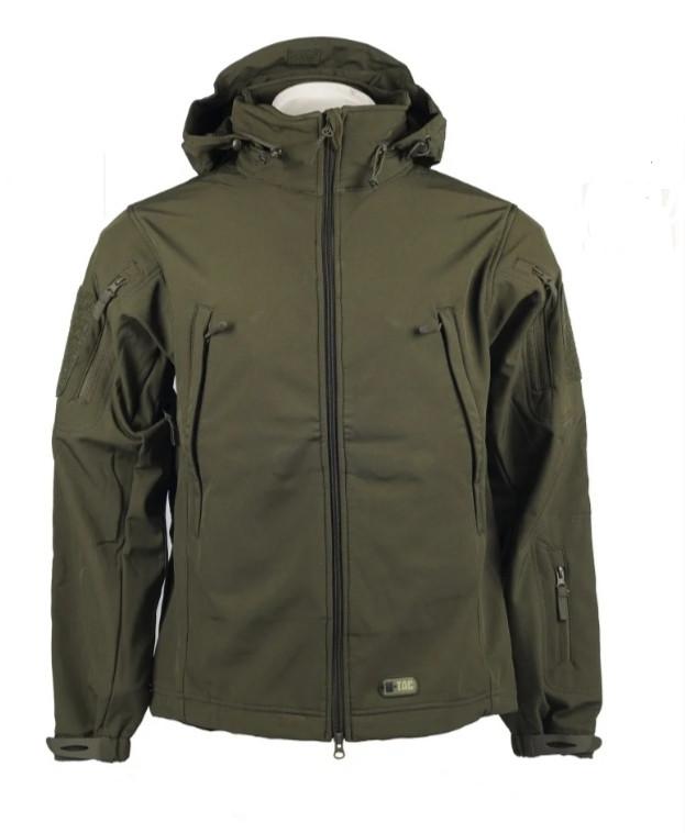 Тактична куртка Soft Shell (оливковий)