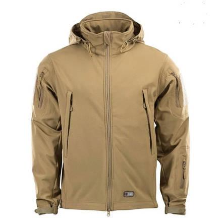Тактична куртка Soft Shell (коричневий), фото 2