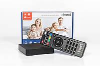 SWEET.TV Inext TV4 Smart TV (смарт тв) Android приставка с обучаемым пультом