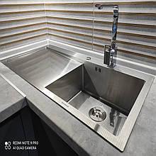 Кухонная мойка стальная Germece HANDMADE H-1000500 R металл 3/1.2 мм 100х50 см