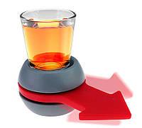 "Стакан ""shot spinner"" ( стакан ""кому пить? )"