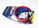 Набор проводов BL-8 для подключения усилителя / сабвуфера (полный комплект проводов для установки усилителя), фото 2