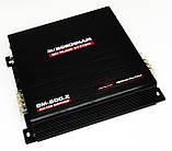 Автомобильный усилитель мощности звука Boschmann BM-600.2 2-х канальный (автоусилитель звука на 2 канала), фото 3