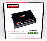 Автомобильный усилитель мощности звука Boschmann BM-600.2 2-х канальный (автоусилитель звука на 2 канала), фото 4