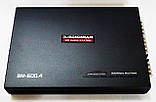 Автомобильный усилитель мощности звука четырехканальный Boschmann BM Audio BM-600.4, фото 2