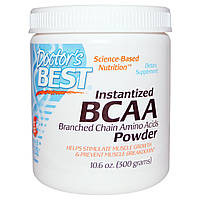 BCAA аминокислоты Doctor's Best Instantized BCAA Powder (300 г)