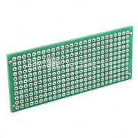 PCB 3х7 см двухсторонняя печатная плата