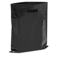 Пакет полиэтиленовый черный 40х30 см