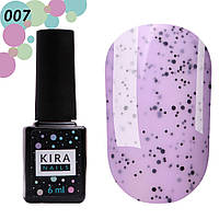 Гель-лак Kira Nails №007 Ежевика, 6 мл