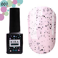 Гель-лак Kira Nails №001 Ваніль, 6 мл