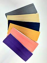 Повязка трикотажная, ширина 7 см, цвета в ассортименте