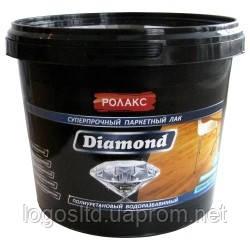 Лак паркетный «Diamond» 1 л полиуретановый водорастворимый