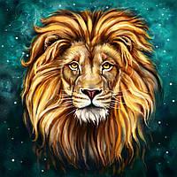 Вафельные картинки Лев