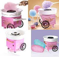 Большой аппарат Машинка для приготовления сахарной ваты Cotton Candy Maker + набор палочек в подарок