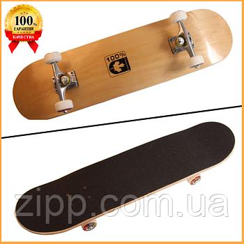 Скейт деревянный Скейтборд Canada 100%