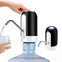 Сенсорная насадка-помпа на бутылку Automatic Water Dispenser Черная