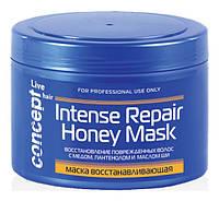 Сoncept Маска восстанавливающая с медом для сухих и поврежденных волос 500 мл