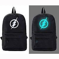 Светящийся городской рюкзак с usb зарядкой + замок (Молния)