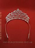 Корона, диадема, тиара в серебре, высота 6,5 см., фото 3