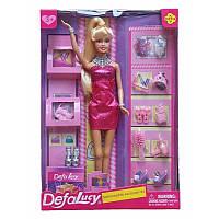 Кукла Дефа в розовом платье Модный бутик 30 см. Оригинал Defa 8233