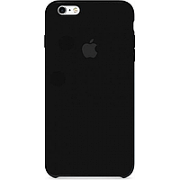 Чехол для iPhone 6/6s Silicone Case бампер (Black)
