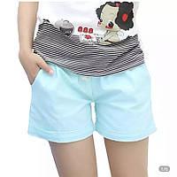 Шорты коттон однотонные для девушек размер норма 44-46,цвет уточняйте при заказе, фото 1