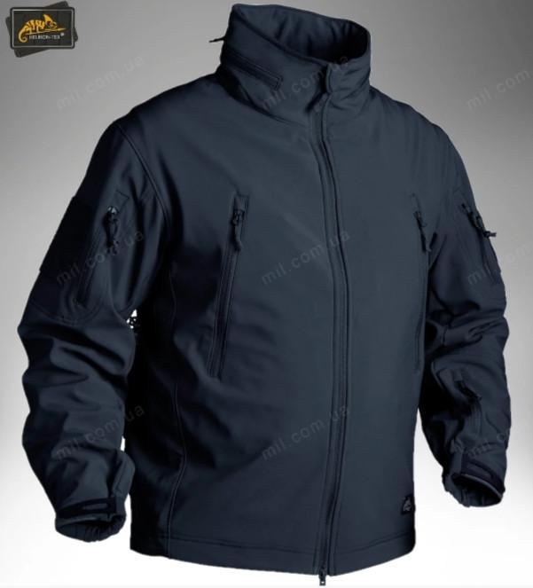Демісезонна тактична куртка Helikon-Tex® GUNFIGHTER Windblocker® Soft Shell (темно синій)
