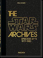 Книга The Star Wars Archives. 1977-1983. Автор - Paul Duncan (Taschen) (English)