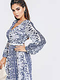 Шифонове плаття з принтом і асиметричний подолом, фото 6