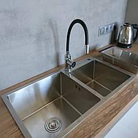Кухонная мойка на две чаши Germece Handmade 8045 HD-S001