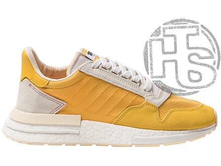 Женские кроссовки Adidas ZX 500 RM Bold Gold CG6860, фото 2