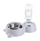 ОПТ Кормушка для собак і кішок з дозатором води DOG & Cat bowl посуд, фото 2