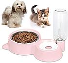 ОПТ Кормушка для собак і кішок з дозатором води DOG & Cat bowl посуд, фото 3
