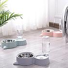ОПТ Кормушка для собак і кішок з дозатором води DOG & Cat bowl посуд, фото 4
